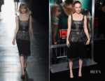 Kate Bosworth In Christopher Kane - 'Tomb Raider' LA Premiere