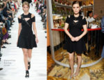 Kate Mara In Valentino - Grand Marnier Campaign Launch