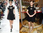 Kate Mara In Valentino - Grand Marnier Campaign Launch