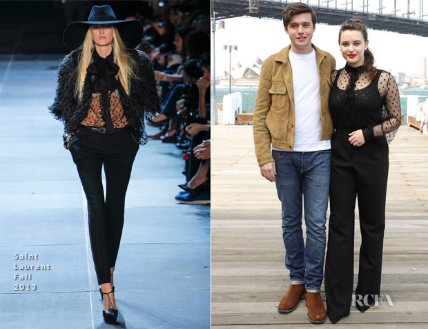 Katherine Langford In Saint Laurent - 'Love, Simon' Sydney Photocall