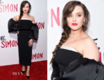 Katherine Langford In Stella McCartney - 'Love, Simon' LA Screening