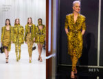 Katy Perry In Versace - Jimmy Kimmel Live