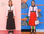 Kristen Bell In Emilia Wickstead - Nickelodeon's 2018 Kids' Choice Awards