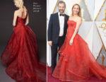 Leslie Mann In Zac Posen - 2018 Oscars