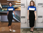 Lucy Hale In Solace London & Sachin & Babi -  Build Series & The Tonight Show Starring Jimmy Fallon