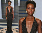 Lupita Nyong'o In Armani Privé - 2018 Vanity Fair Oscar Party