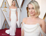 Margot Robbie In Chanel Couture - 2018 Oscars