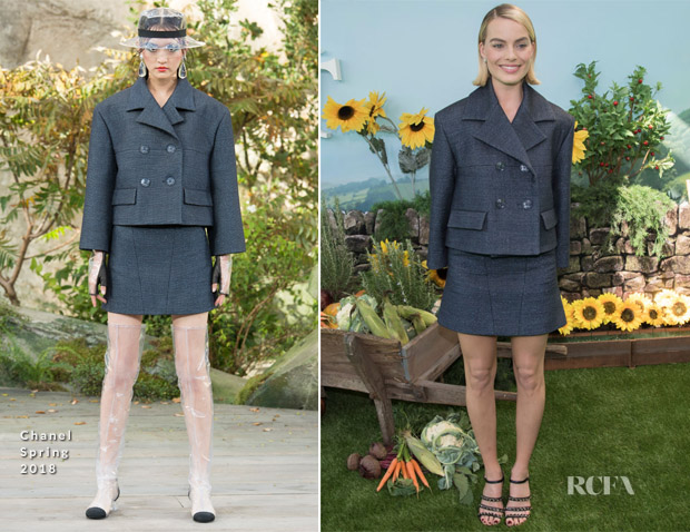 Margot Robbie In Chanel - 'Peter Rabbit' Sydney Premiere