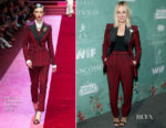 Margot Robbie In Dolce & Gabbana - Women In Film Oscar Nominees Celebration