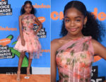 Marsai Martin In Alexander McQueen - Nickelodeon's 2018 Kids' Choice Awards