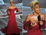 Mary J. Blige In Vera Wang - 2018 Oscars Performance