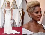 Mary J Blige In Atelier Versace - 2018 Oscars