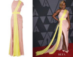 Mary J Blige's Cushnie et Ochs Governors Awards Gown