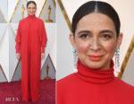 Maya Rudolph In Valentino - 2018 Oscars