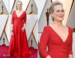 Meryl Streep In Christian Dior Couture - 2018 Oscars