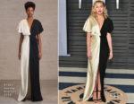 Miley Cyrus In Prabal Gurung - 2018 Vanity Fair Oscar Party