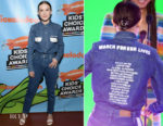Millie Bobbie Brown In Calvin Klein - Nickelodeon's 2018 Kids' Choice Awards
