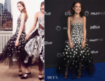 Millie Bobby Brown In Oscar de la Renta - PaleyFest Los Angeles 2018:  'Stranger Things'