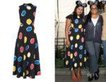Mindy Kaling's L.K. Bennett Marlina Dress