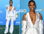Nafessa Williams In Thai Nguyen Atelier - 'Gringo' LA Premiere