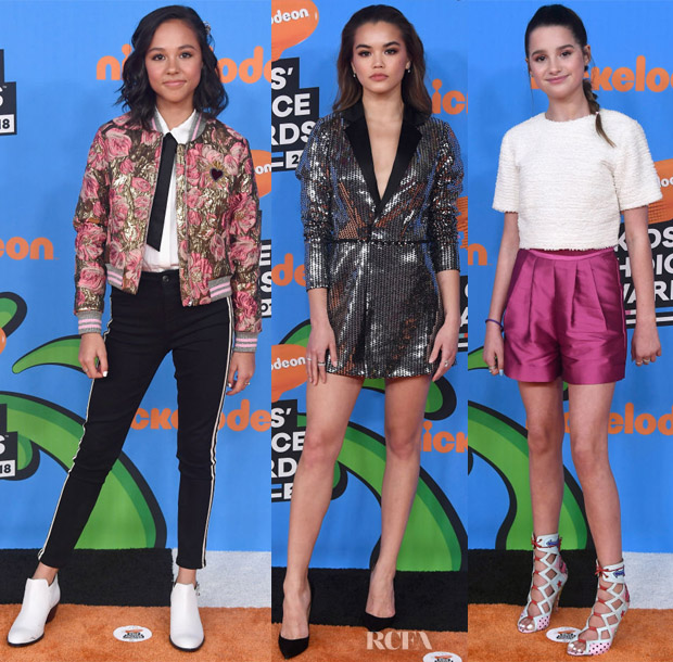 7d6321554eca Nickelodeon s 2018 Kids  Choice Awards Red Carpet Roundup - Red ...