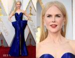 Nicole Kidman In Armani Privé - 2018 Oscars