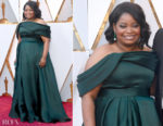 Octavia Spencer In Brandon Maxwell - 2018 Oscars