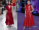 Olivia Cooke In Calvin Klein 205W39NYC - 'Ready Player One' LA Premiere