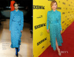 Olivia Wilde In Carolina Herrera - 'A Vigilante' SXSW Festival Premiere