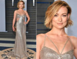 Olivia Wilde In Roberto Cavalli Couture - 2018 Vanity Fair Oscar Party