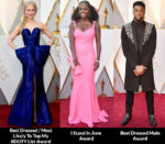 2018 Oscars Fashion Critics' Roundup