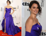 Penelope Cruz In Versace - César Awards 2018