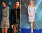 Reese Witherspoon In Elie Saab - 'A Wrinkle In Time' London Premiere