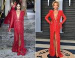 Rita Ora In Zuhair Murad Couture - 2018 Vanity Fair Oscar Party