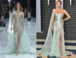 Rosie Huntington-Whiteley In Ralph & Russo Couture - 2018 Vanity Fair Oscar Party