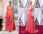 Samara Weaving In Schiaparelli Couture - 2018 Oscars