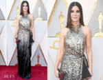 Sandra Bullock In Louis Vuitton - 2018 Oscars
