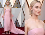 Saoirse Ronan In Calvin Klein by Appointment - 2018 Oscars