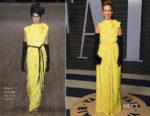 Sarah Paulson In Marc Jacobs -2018 Vanity Fair Oscar Party