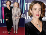 Sarah Paulson In Ulla Johnson - 2018 Literacy Partners Gala