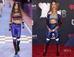 Serayah McNeill In Tommy Hilfiger - 2018 iHeartRadio Music Awards