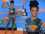 Skai Jackson In Alcoolique - Nickelodeon's 2018 Kids' Choice Awards