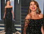 Sofia Vergara In Ralph & Russo Couture - 2018 Vanity Fair Oscar Party
