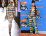 Storm Reid in Moschino - Nickelodeon's 2018 Kids' Choice Awards