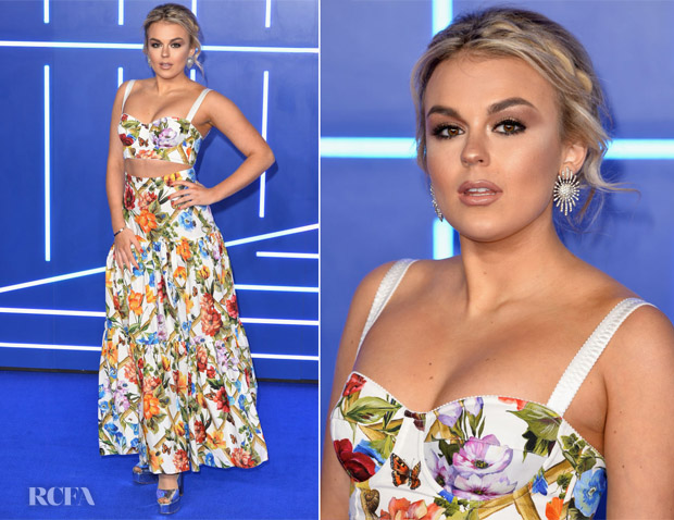 Tallia Storm In Dolce & Gabbana - 'Ready Player One' London Premiere