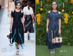 Tessa Thompson In Fendi - 4th Annual Veuve Clicquot Carnaval