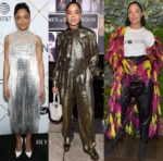 Tessa Thompson In Ralph & Russo Couture, Alberta Ferretti & Rodarte - Pre-Oscars Events