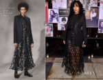 Tracee Ellis Ross In Christian Dior - Vanity Fair and Lancome Paris Toast Women in Hollywood