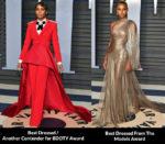 2018 Vanity Fair Oscar Party Fashion Critics' Roundup