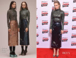 Vanessa Kirby In Erdem - Empire Awards 2018